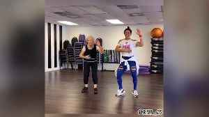 92-year-old busting shapes at her zumba class [Video]