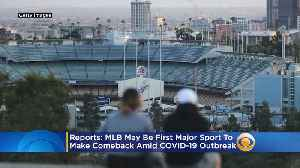 Coronavirus Sports: MLB May Be First Major Sport To Make Comeback Amid COVID-19 Outbreak, Reports Say [Video]