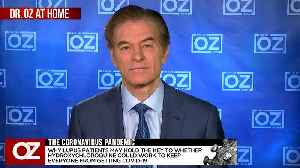 Dr. Oz And Dr. Didier Raoult Discuss New Data From His Study And If He Found That Patients With Lupus Also Had Covid-19. [Video]