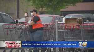 Grocery Stores Rolling Out Enhanced COVID-19 Safety Measures [Video]