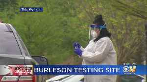 New Coronavirus Testing Location Opens In Burleson [Video]