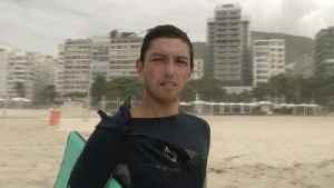 Brazilian Surfers Still Catching Waves Despite Warnings Amid Coronavirus Pandemic [Video]