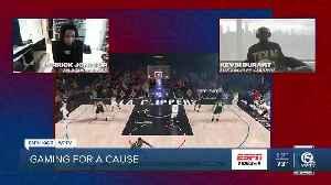 NBA Pros go to NBA2k [Video]