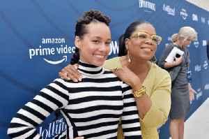Alicia Keys on 'big sister' Oprah Winfrey [Video]