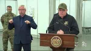 Gov. Hogan tours Baltimore Convention Center field hospital [Video]