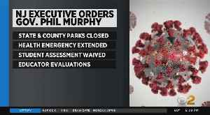 Coronavirus Update: NJ Closing All State, County Parks To Promote Social Distancing [Video]