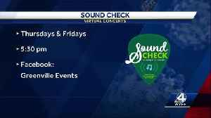 Music plays on, online instead of in person in Downtown Greenville [Video]