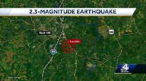 Small earthquake reported in South Carolina, USGS says [Video]