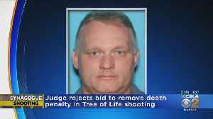 Judge Rejects Bid To Remove Death Penalty In Tree Of Life Shooting [Video]