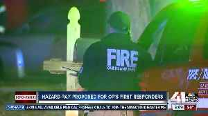 Hazard pay proposed for Overland Park first responders [Video]