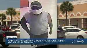 Masked man robs woman at Publix [Video]