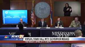 WXXV FOX 25 to air virtual town hall with Governor Tate Reeves Thursday [Video]