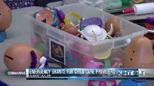 Peacetime Emergency Grants For Childcare Providers [Video]