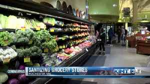 Sanitizing Grocery Stores [Video]