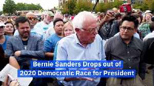 Bernie Sanders Drops out of 2020 Democratic Race for President [Video]