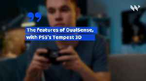Sony Unveils PS5 Controller Design [Video]