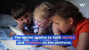 Netflix Reveals New Parental Control Options [Video]
