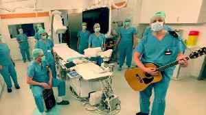 Cardiology team sing inspiring song to combat coronavirus [Video]