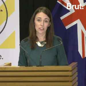 New Zealand PM praised for calming pressers [Video]