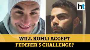 Roger Federer challenges Virat Kohli: Watch tennis ace's home training dare [Video]