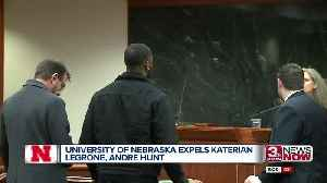 Former Husker Players Expelled [Video]