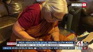 India Association of KC sewing cloth masks [Video]