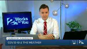 Problem Solvers Coronavirus Hotline: COVID-19 and the Weather [Video]
