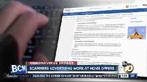 Scammers targeting people looking for remote jobs [Video]