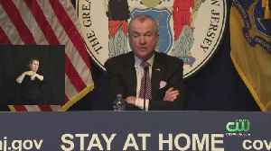 New Jersey Gov. Phil Murphy Extends Public Health Emergency After Reporting Single-Day High In COVID-19-Related Deaths [Video]