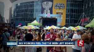 Gig workers feel left behind when it comes to unemployment help [Video]