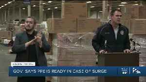 Gov. Stitt Says PPE Is Ready In Case of Surge [Video]