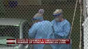 COVID-19 claiming a disproportionate number of African American lives [Video]