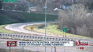 State patrol urges driving safety amd good citizenship during coronavirus pandemic [Video]