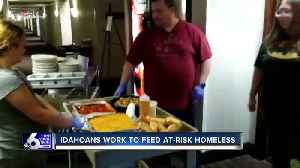 Small nonprofit team works overtime cooking hundreds of meals per day for at-risk homeless [Video]