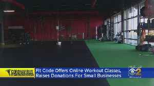 Fit Code Gym Launches Online Challenge To Benefit Struggling Businesses [Video]