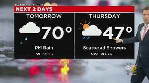 Big Cool-Down As Storms Move Out [Video]