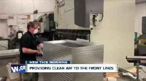 Syracuse-based filter manufacturer helping keep frontlines safe during COVID-19 [Video]