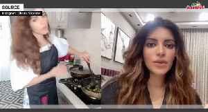 Corona-virus : What Is Shama Sikander Doing At Home [Video]