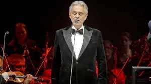 Opera Singer Andrea Bocelli To Perform In Italy On Easter