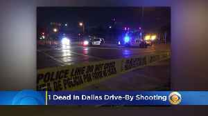 Drive-By Shooting In Dallas Leaves 1 Dead [Video]