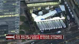 Wayne County secures mobile cooling trailers in preparation for COVID-19 death surge [Video]