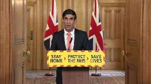 Rishi Sunak: Boris Johnson's condition is improving