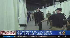 Coronavirus Update: NJ Gov. Phil Murphy Tours New Field Medical Station [Video]