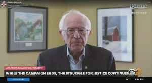 Bernie Sanders Announces End Of Campaign [Video]