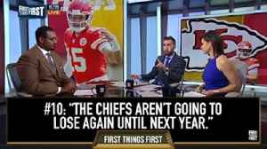 #10 Nick predicted in November his Chiefs would win the Super Bowl | 10 Best Moments of the Year [Video]