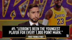 #9 LeBron will end the GOAT debate | 10 Best Moments of the Year [Video]