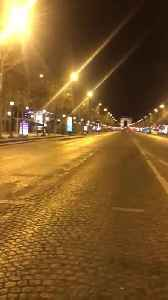 Streets in Paris Become Deserted After Strict Coronavirus Lockdown [Video]
