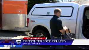 Redding firefighters offering to pick up online orders for people [Video]
