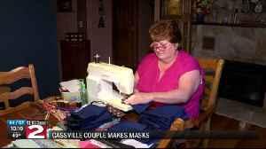 Cassville mask makers [Video]