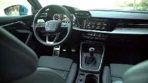 The new Audi A3 Sportback Interior Design in Turbo blue [Video]